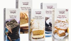 Win 1 of 25 Sets of 12 Tastefully Simple Dessert Mixes - ends 6/12