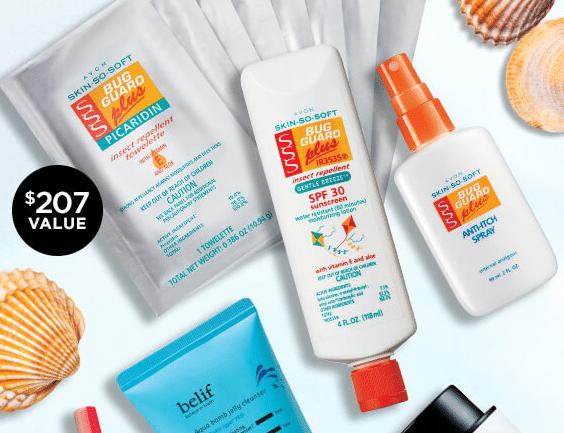 Avon Skin Care Prize Packs