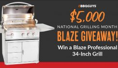 Win a Blaze Pro 34 Inch Grill From BBQGuys $5,500 Value - ends 7/31