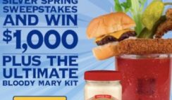 Win $1,000 Cash and the Ultimate Bloody Mary Kit in the Silver Spring Giveaway - ends 7/15