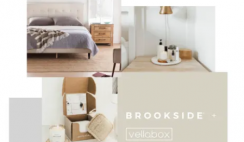 Win a Brookside Bed Frame & Lucerna Candle One Year Subscription - ends 8/3
