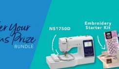 Win a new Sewing Machine - 7/31