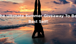 Win the Clean Plates Ultimate Summer Be Your Best Self Giveaway Prize Bundle ($3,000+ Value) - ends 7/31