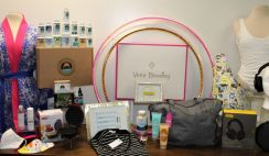 Win a Backstage Creations Comfort Kit Celebrity Gift Bag with Vera Bradley Tote Bag, Health & Beauty Products, Luxury Robe, Fashion Accessories & More! - ends 7/6