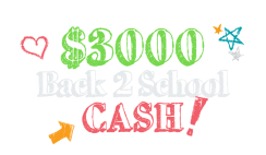Win $3,000 Cash for Back to School Shopping From DigitalIvy - Enter Daily - ends 8/23