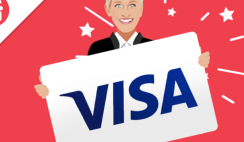Win a $500 Visa Gift Card from Ellen Sweepstakes - ends 7/10