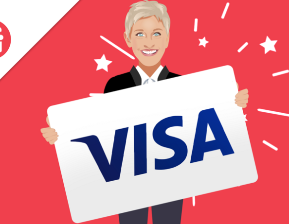 Visa Gift Card from Ellen Sweepstakes