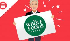 Win a $500 Whole Foods Gift Card from Ellen - ends 7/25