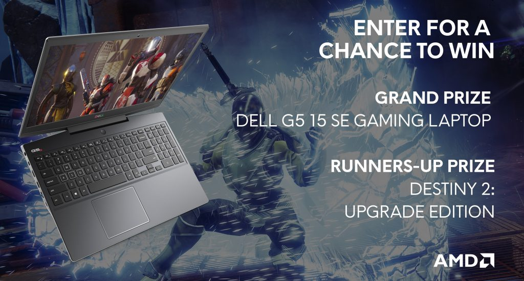 win a Dell Gaming Notebook