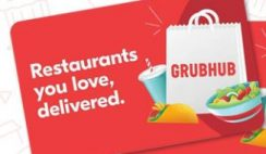 Win 1 of 5 $50 Grubhub Gift Cards from John Tesh Radio Show - ends 7/12
