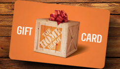 Win a Home Depot Gift Card of $100 - ends 7/2