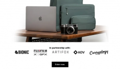 Win the MacBook Air with Fujifilm Camera, Artifox Desk, InCase Bionic Collection & More ($3,600+ Value)  - ends 8/9