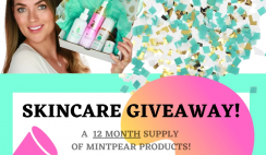 Win a Year's Supply of Mint Pear Clean Skincare ($1,000 Value) - ends 7/31