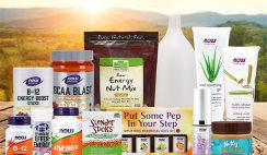 Win a NOW Foods Summer Energy Prize Bundle with Beauty & Nutrition Essentials ($218 Value) - ends 7/22