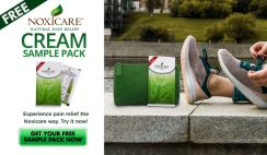 FREE Noxicare Natural Pain Relief Cream