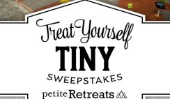 Win a Petite Retreat 7 Day Stay at Any Tiny House Village of Choice + More! - ends 7/24