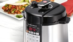 Win a Free Pressure Cooker from Hamilton Beach Sweepstakes - ends 7/29
