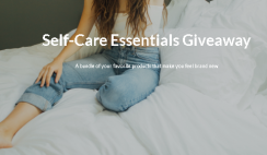 Win the Update Your Self-Care Routine Giveaway with $1,250+ Value Prize Bundle - Skin Care, Coffee, Supplements, Astrology, Cash & More! - ends 7/23