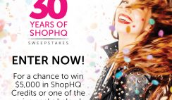 Win a $5,000 ShopHQ Shopping Spree or 1 of 5 Beauty, Jewelry, or Home Items - ends 8/1