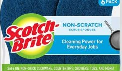 Amazon DEAL: 6 Scotch-Brite Non-Scratch Scrub Sponges @47% Off!