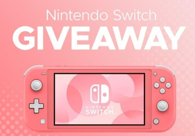 win a free Nintendo Switch Lite
