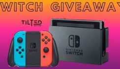 Win a Free Nintendo Switch Sweepstakes - ends 8/1