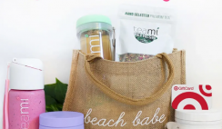 Win a Teami Summer Splash Prize Bundle with $300 Target Gift Card, Pink MIX IT, Wellness Protein, Refresh Blend, Mint Tumbler, Mini Oil Kit, Beach Bag, & New Teami Product! ($575 Value) - ends 7/31