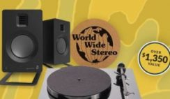 Win a World Wide Stereo Premium Turntable & Speakers Prize Bundle ($1,350+ Value) - ends 7/31