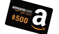 Win a $500 Amazon Gift Card from ISFF Film - ends 8/14