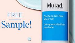 FREE Murad Clarifying Water Gel Moisturizer