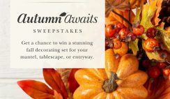 Win a Balsam Hill Decor Package of Choice - ends 8/25