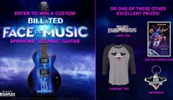 Win a Custom Epiphone Les Paul Guitar & More From Bill and Ted Face the Music - ends 8/28