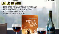 Win a Bookstr Signed Book, Godiva Chocolate, Wine and $200 Cash - ends 9/6