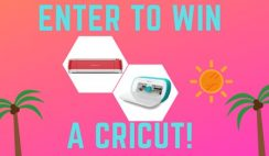 Win a Cricut Joy or Explore Air 2 Crafting Next Level Tech Prize - ends 8/15