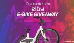 Win an Elby E-Bike ($2,999 Value) - ends 8/31