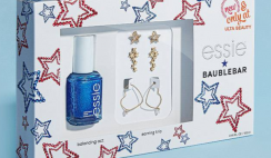 Win 1 of 3 Essie & Baublebar Prize Bundles - with an Exclusive Nail Polish and Earrings Gift Set - ends 8/31