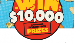 Win $10,000 Cash From Herr's + 10,030 Instant Win Prizes - ($60k+ Total Value) - Enter Daily - ends 9/30