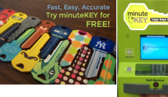 FREE Key Made at MinuteKey - ends 8/31