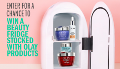 Win 1 of 2 Club Olay Beauty Fridges Filled with Olay Products ($215 Value Each) - ends 8/31