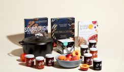 Win the Savoring Summer's Harvest Giveaway Prize Bundle - With Cast Iron Dutch Oven, Cookbooks, Serving Bowls, Preserves, Cheese Pairings & More - ends 8/20