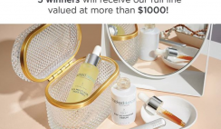 Win 1 of 5 Stacked Skincare Beauty Products Bundles ($1,000 Value Each)  - ends 8/9