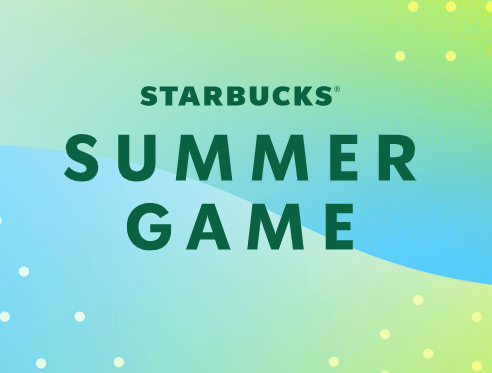 Starbucks Instant Win Game