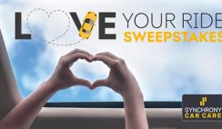 Win the Synchrony Love Your Ride Giveaway - Win $5,200 Cash, 1 of 54 $700 Cash or $50 Visa Gift Cards, and 450 Instant Win Prizes - Enter Daily - ends 9/30