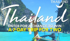 Win the Daily Burn Thailand Vacation - ends 9/25