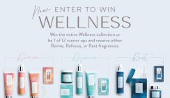 Win the Thymes Wellness Collection or 1 of 12 Revive, Refocus or Rest Fragrances by Thyme - ends 8/16