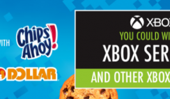 Family Dollar Chips Ahoy XBox Giveaway ends 10/31