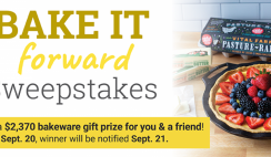 Lodge Bake it Forward Giveaway ends 9/20