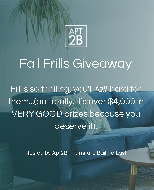 apt2b Fall Frills