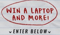 Back to School Laptop Giveaway: ends 10/8