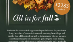 Balsam Hill $2,200+ Fall Giveaway - 9/24